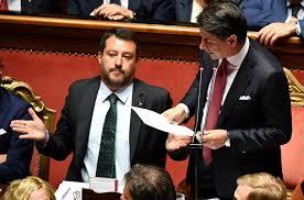 Crisi di governo, il premier Conte si dimette e attacca Salvini ...