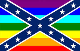 Gay Rebel Flag Sticker Custom Wall Graphics