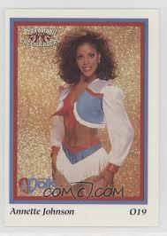 1994 Sideliners Pro Football Cheerleaders - Houston Oilers Derrick Dolls  #O19 - Annette Johnson