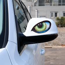 2020 Eye Car Sticker Rear View Mirror Decal Creative Auto Stickers And Decals For Auto Side Fender 3d Stereo Reflective Car Styling From Ordermix 0 36 Dhgate Com