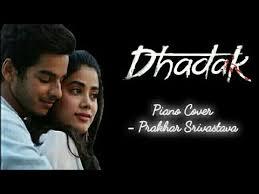 Dhadak - Title Track   Piano Cover - YouTube