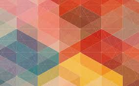 geometric shapes design wallpaper