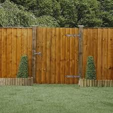 4 X 3 Feather Edge Wooden Garden Gate Waltons