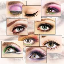 how to apply eye makeup when you wear
