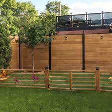 Horizontal System Backyard Fences Backyard Summer Backyard