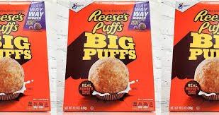 the regular reese s puffs cereal will