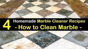 4 diy ways to clean marble