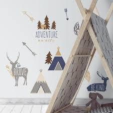 Adventure Awaits Animal Wall Decals D Marie Interiors