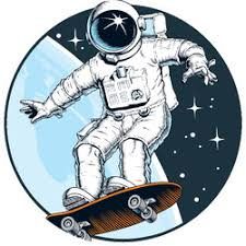 Skateboarding Car Stickers Decals Durable Vinyl Stickers