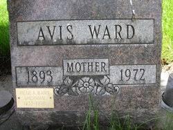 Avis Irvine Ward (1893-1972) - Find A Grave Memorial