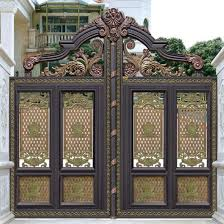 China Classical Design Wrought Iron Gates For House Garden China Raw Iron Gates And Fence With Metal And Wood Price