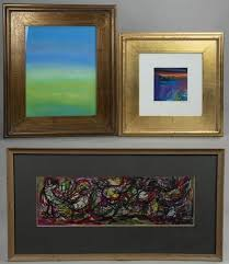 Lot-Art | (3) Modern Abstract Paintings