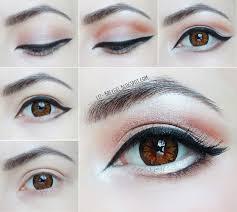 eye enlarging makeup tutorial step by