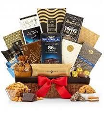 encore gourmet gift basket chocolate