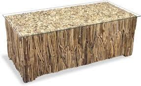 s driftwood coffee table coffee