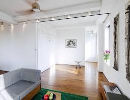 ceiling fan gray sofa loft murphy bed