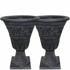 garden urn planter flower plant pot