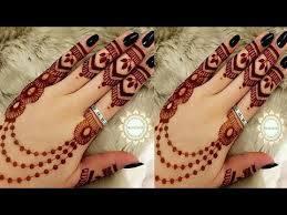 Easy Henna Mehndi Designs For Back Hand