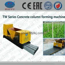 Precast Concrete Fence Mold Fence Post Making Machine Tw100x100x4 Haiyu China Manufacturer Cement Precast Component Construction