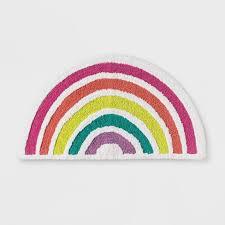Rainbow Bath Rug Pillowfort Target