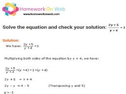 calculator for linear equations