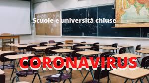 Coronavirus: scuole e atenei chiusi fino a metà marzo