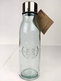 com glass water bottle