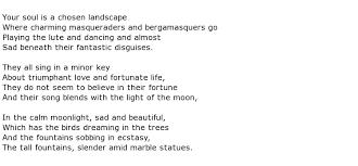 paul verlaine poems my poetic side