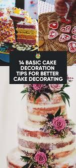 14 basic cake decoration tips for