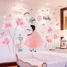 Discount Flower Wall Stickers Girls Bedroom Flower Wall Stickers Girls Bedroom 2020 On Sale At Dhgate Com