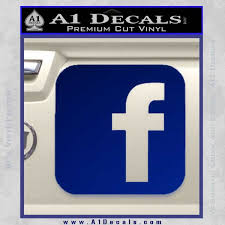 Facebook Customizable Decal Sticker A1 Decals