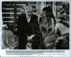 1989 Press Photo Gregory Peck and Jenny Gago in Old Gringo - cvp45112 |  Historic Images
