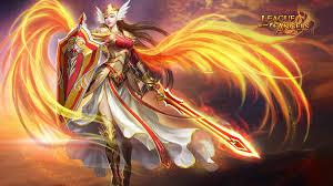 angel warrior hd wallpaper background