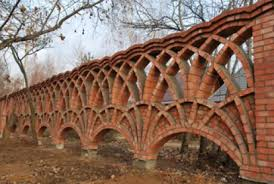 Brick Fence With Arches Architect Anton Bulatetsky Brick Arch Brick Fence Brick Art