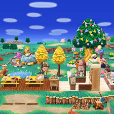 Autumn may be coming, but outside seating at the bakery is still available.  : ACPocketCamp