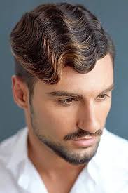 various curly hairstyles for men to