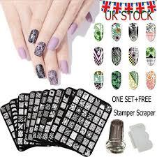 uk stock nail art st stencil