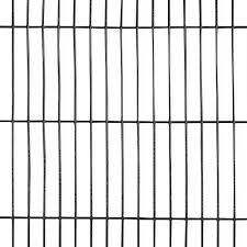 Fencer Wire 4 Ft X 50 Ft 16 Gauge Black Pvc Coated Welded Wire Fence With Mesh Size 1 2 In X 3 In Wv16 B4x50mh3 The Home Depot
