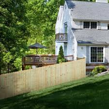 Pressure Treated Dog Ear Fence Pickets 10 Pack Yard Home