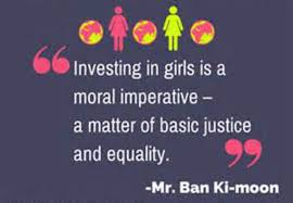 international day of the girl child voices of youth