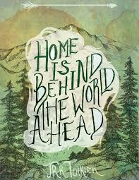 ➸ home is behind the world ahead hobbit quotes lotr quotes