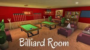 Roblox/BLOXBURG: Billiard Room [SPEED ...