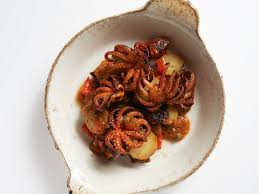 Spicy Octopus with Potatoes recipe ...