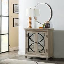 millbank mirror front 2 door accent