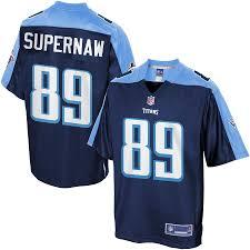 Men's Tennessee Titans Phillip Supernaw NFL Pro Line Big & Tall Team Color  Jersey