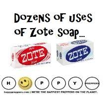 zote soap uses for preppers