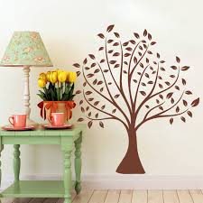 70 80cm Simple Classical Brown Tree Wall Stickers Home Decor Living Room Vinyl Wall Decals Wedding Decoration Diy Mural Art Stickers Home Decor Tree Wall Stickervinyl Wall Decals Aliexpress