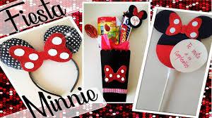 Ideas Para Fiesta De Minnie Mouse Youtube