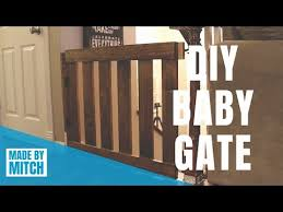 Diy Baby Gate Youtube