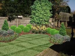 Serene Landscape Fence Landscaping Landscaping Along Fence Backyard Landscaping